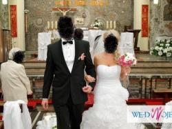 Zjawiskowa suknia ślubna firmy Pronovias