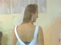 Zjawiskowa suknia ślubna Herms - Macon rozmiar 38