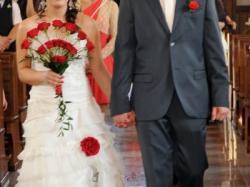 Zjawiskowa Suknia Ślubna Janessa