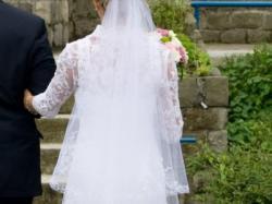 Zjawiskowa suknia ślubna - koronkowa r.36
