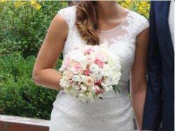 Zjawiskowa suknia ślubna Lillian West!