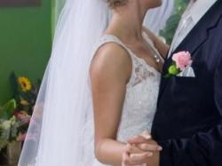 Zjawiskowa suknia ślubna na wzór Pronovias Higuera