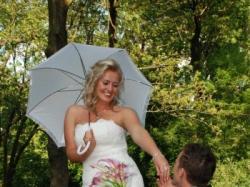 Zjawiskowa suknia ślubna San Patrick z salonu Madonny