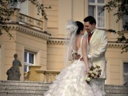 Zjawiskowa suknia ślubna Sincerity, model 3243 w kolorze ecru. Rozmiar 36/38.