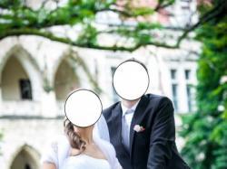 ZJAWISKOWA suknia ślubna z kryształowym pasem