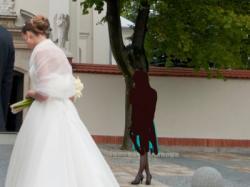 Zjawiskowa suknia z salonu