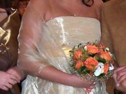 Złota suknia  Rose 40