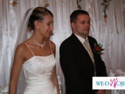 Zmysłowa, seksowna suknia ślubna z Hiszpanii