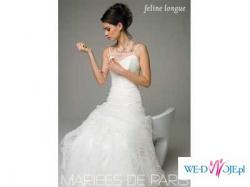 ZMYSŁOWA SUKNIA ecru Mariees de Paris