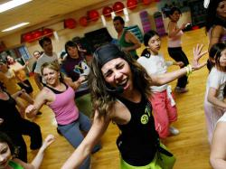 Zumba - połączenie tańca i fitnessu
