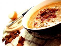 Zupa cebulowo-fasolowa