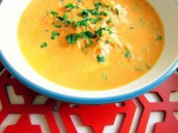 Zupa pomidorowa na mleku kokosowym - Kasia gotuje z Polki.pl
