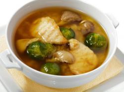 Zupa z brukselką - przepis
