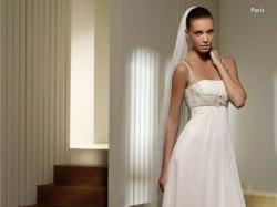 Zwiewna i delikatna suknia ślubna St.Patrick model Paris