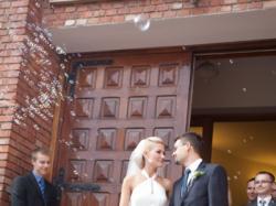 Zwiewna suknia ślubna Anna Kara Gelanor
