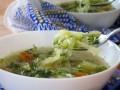 zupa z kapusty przepis, jak zrobić kapuścianą zupę, przepis na zupę z młodej kapusty