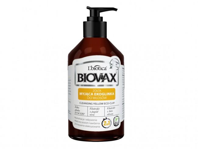 Glinka do włosów Biovax opinie