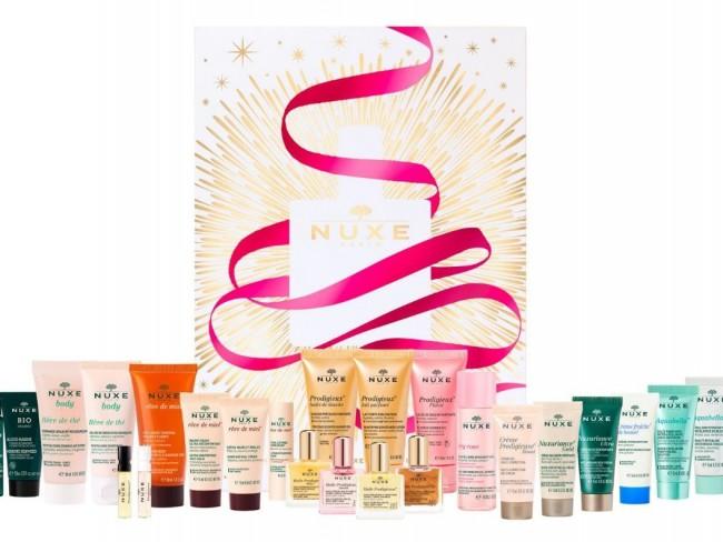 kalendarz adwentowy z kosmetykami Nuxe 2021