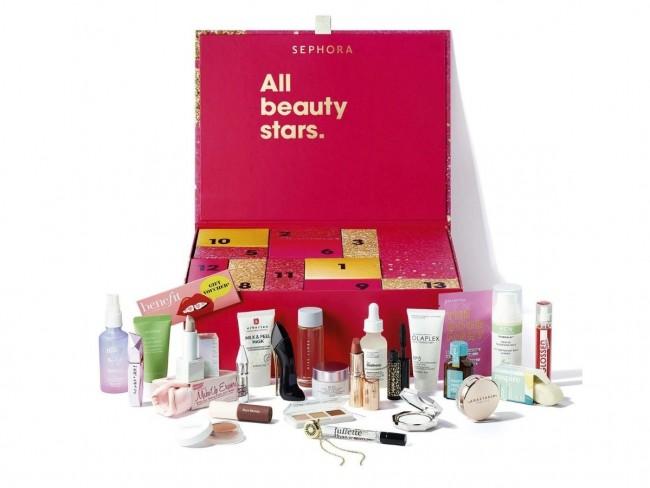 kalendarz adwentowy z kosmetykami Sephora 2021