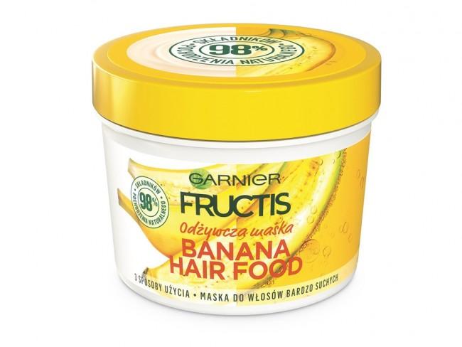 Maska do włosów Banana Hair Food Garnier
