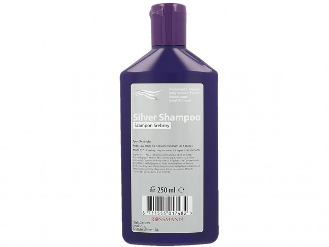 szampon srebrny z Rossmanna