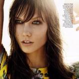 American Vogue grudzień 2011 - Karlie Kloss