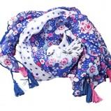 apaszka Glitter w kwiaty - wiosna/lato 2012