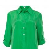 asymetryczna sukienka Solar w kolorze zielonym - moda damska 2013