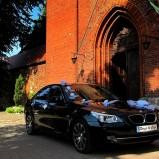 AUTO DO ŚLUBU***CZARNE BMW E60
