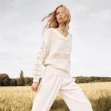 ażurowy sweterek Chloe w kolorze białym - kolekcja na wiosnę i lato 2013