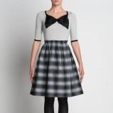 bardzo modna sukienka Simple w kratkę  - moda damska 2012/13