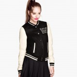 bejsbolówka kurtka H&M - modne płaszcze