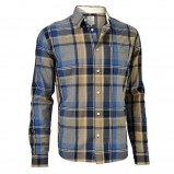 beżowa koszula Cottonfield w kratkę - jesień/zima