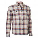 beżowa koszula Cottonfield w kratkę - moda jesień/zima