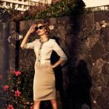 beżowa spódnica Caterina - wiosna-lato 2012