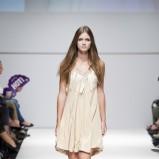 beżowa sukienka Natalia Jaroszewska - wiosna/lato 2012