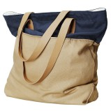 beżowa torba H&M - wiosna 2012