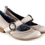 beżowe pantofle Venezia - moda 2011