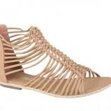 beżowe sandały CCC rzymianki - wiosna-lato 2012