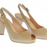 beżowe sandały Molton - moda wiosna/lato