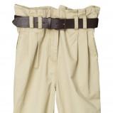 beżowe spodnie H&M - sezon wiosenno-letni