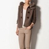 beżowe spodnie Massimo Dutti - lookbook na jesień i zimę