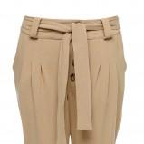 beżowe spodnie Sesst haremki - z kolekcji wiosna-lato 2012