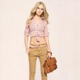 beżowe spodnie Tally Weijl - wiosenna kolekcja