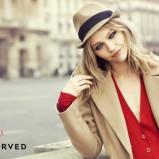 beżowy kapelusz Reserved - jesień/zima 2011/2012