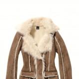 beżowy płaszcz C&A z kieszeniami - jesień/zima 2011/2012