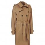 beżowy płaszcz InWear - trendy jesienne