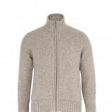 beżowy sweter Marks & Spencer rozpinany - jesień/zima 2010
