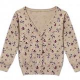 beżowy sweter Reserved we wzorki - jesień/zima 2012/2013