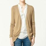 beżowy sweter ZARA - wiosenna kolekcja